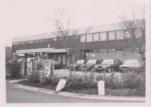 Huidige locatie nieuw gebouwd in 1977